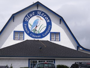 This is the other cheese factory in Tillamook. Expect to find French cheeses and wine tasting inside and farm animals to pet outside.