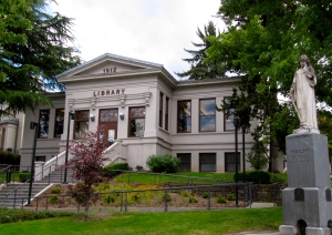 The Ashland Public Library bought a copy of Crossings.