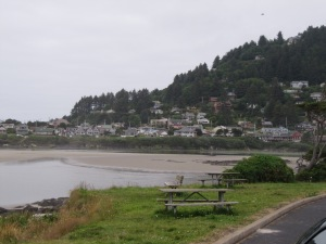 Yachats is a charming village tucked between the ocean and the coastal mountains.