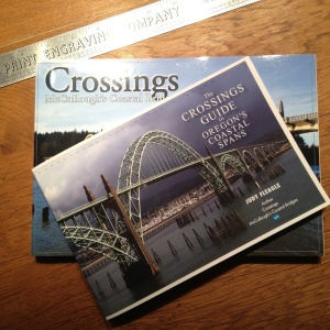 This is a proof copy of The Crossings Guide and the size has not been trimmed yet. It will actually be slightly smaller. And at 48 pages instead of 224, a smaller book than Crossings.