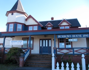 The Burrows House Museum is home to the Lincoln County Historical Society, who carry both of my books.