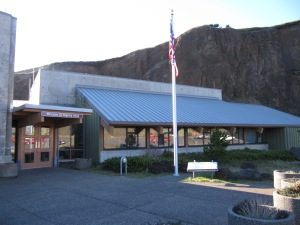 The interpretive center at Yaquina Head offers natural, cultural, and lighthouse history.