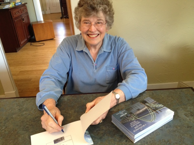 Such fun to be signing the new book. I just love the way it turned out.