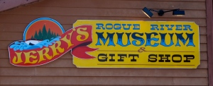 Although the jet boats aren't running yet, the museum and gift shop are open year-round.