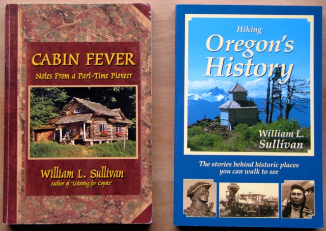Cabin Fever and Hiking Oregon's History are two of many books by the Keynote Speaker.