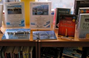 My books on display at Mari's Books.