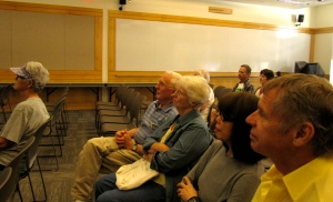 The very attentive and intelligent and helpful audience that came to hear my presentation at the Eugene Public Library.