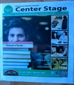 The monthly Center State publication put out by the Events Center focused primarily on the FFOB.