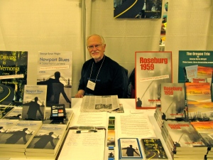 George Byran Wright has a great collection of books he has written.