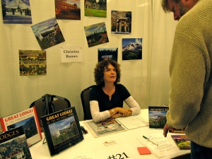 Christine Barnes of Bend has a number of books, including the Great Lodges series.