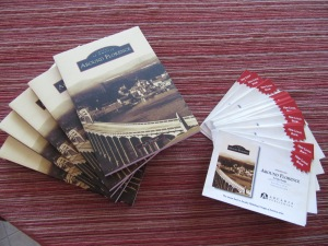 Few copies of the book and many postcards from Arcadia Publishing.