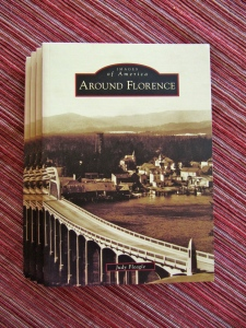 Five copies of Around Florence––the book––arrived June 21.
