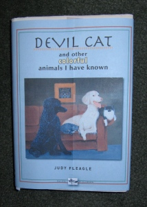 Here is the mock-up of the new dust jacket of Devil Cat. Won't be long now!