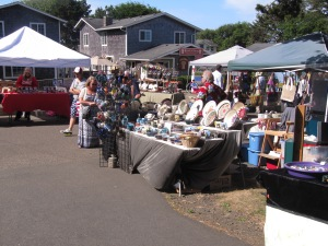 I participate at the Yachats Farmers Market only for a couple of months during the summer.