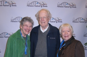 When Connie and I complained to Dick about other book fairs, he said to do our own. Before we knew it, he set up a date for one and named us as co=chairs. We put him on the committee. But we still blame him for starting the FFOB.