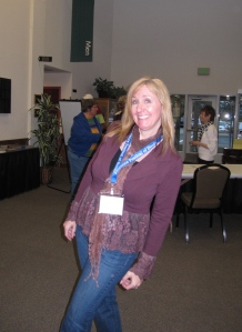 Jennifer Conners, committee member, moderated the panel and provided a real spark throughout the weekend.